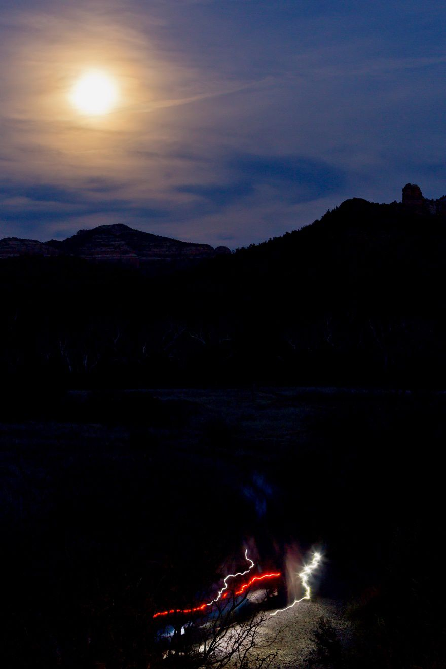 Full Moon at Red Rock State Park
