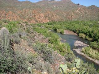 Arizona Trail: Verde River in Mazatzals