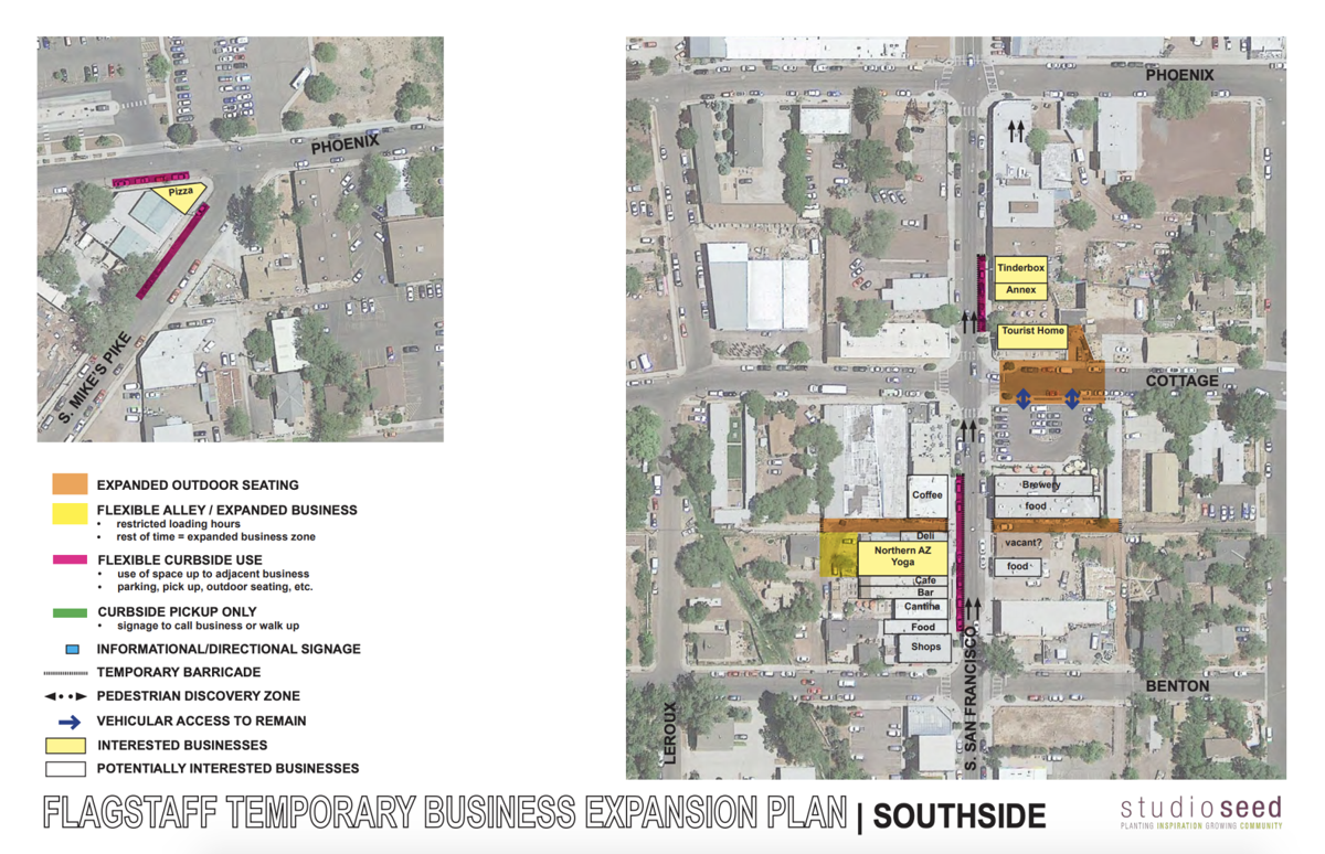 City plan to open public space for commercial use -- southside