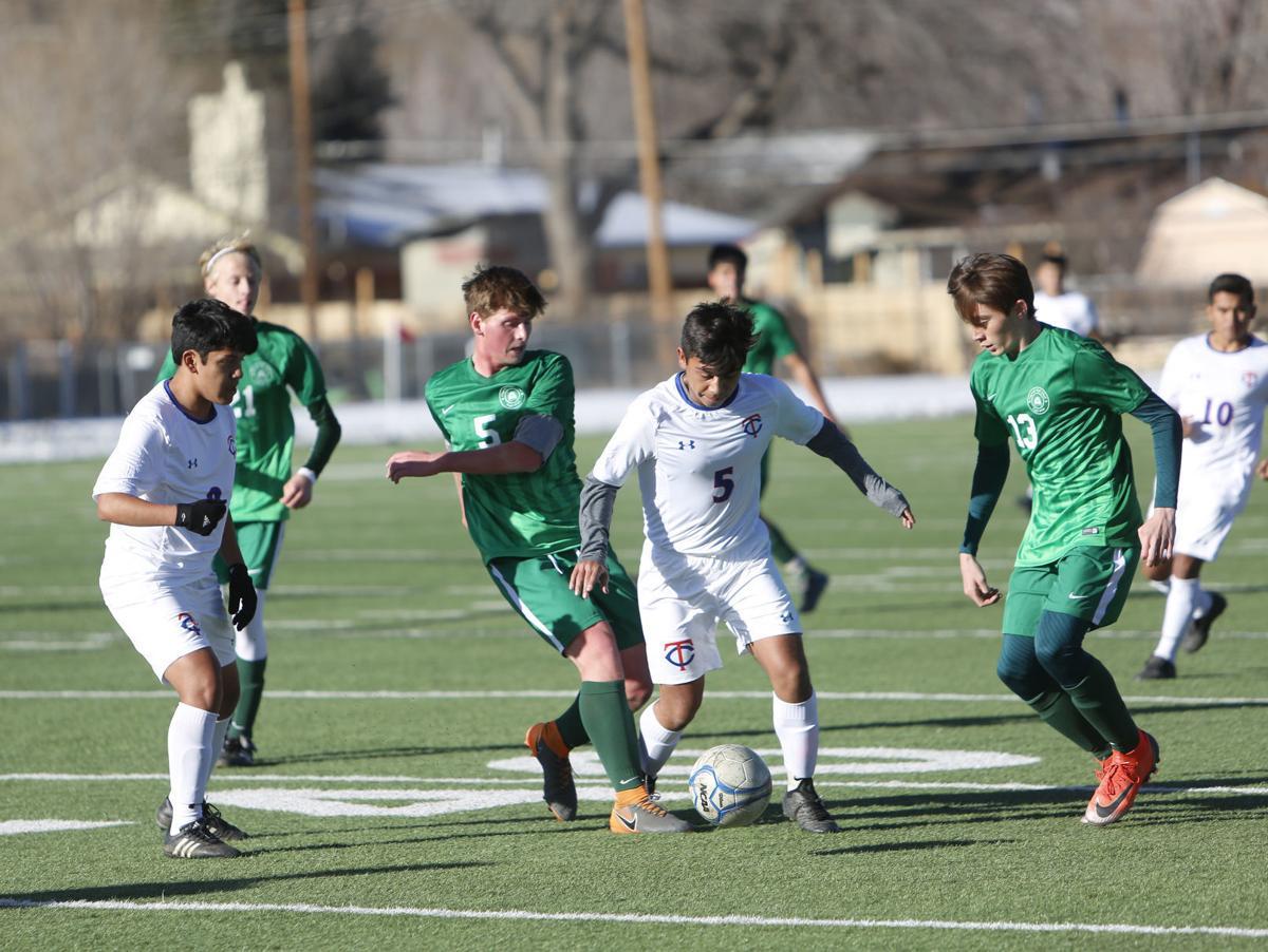 Flagstaff High Thunderbird High Soccer