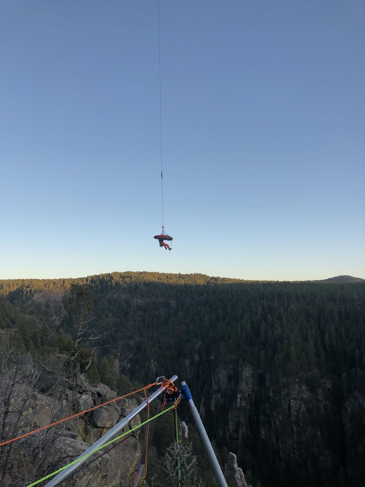 Oak Creek Vista rescue