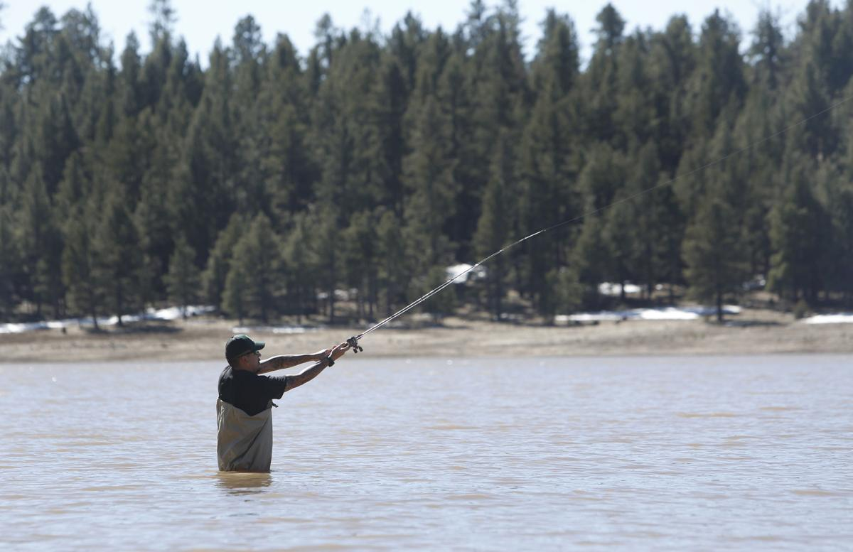 Spring arrives in flagstaff for Fishing in flagstaff