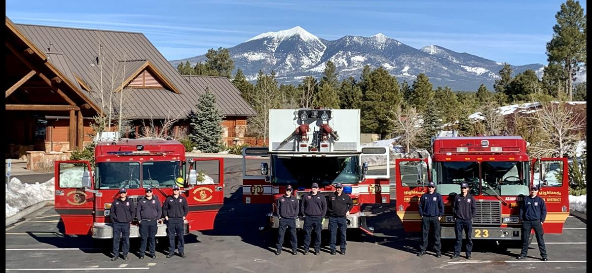 firefighters with the Summit, Flagstaff and Highlands fire district