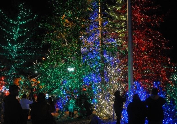 around the town christmas lights go on friday at little america