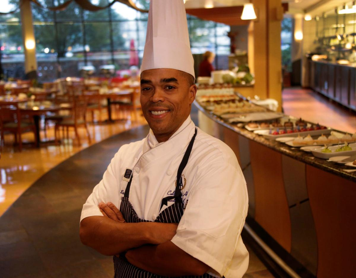 Shawn Loving poses for a portrait at Schoolcraft College on Oct. 12, 2017. Loving is the department chair of Schoolcraft College's Culinary Arts program.
