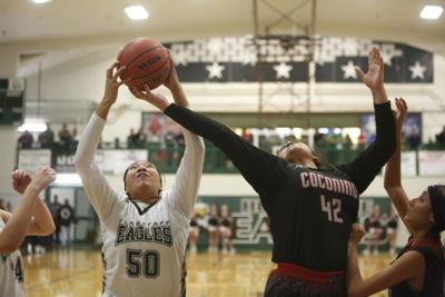 Flagstaff High Coconino High Basketball Crosstown Action