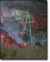 Mount Etna Lava Swallows Ski Lift