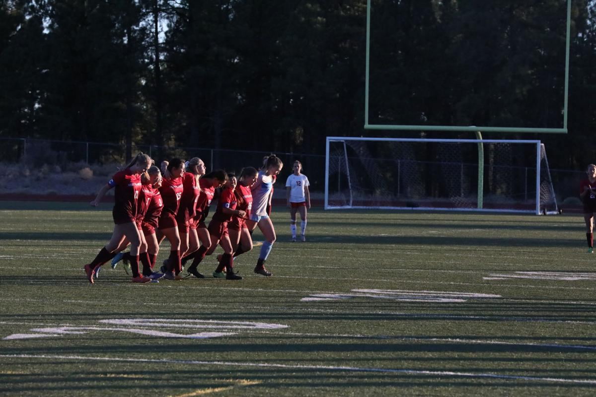 NPA girls soccer versus St. Johns