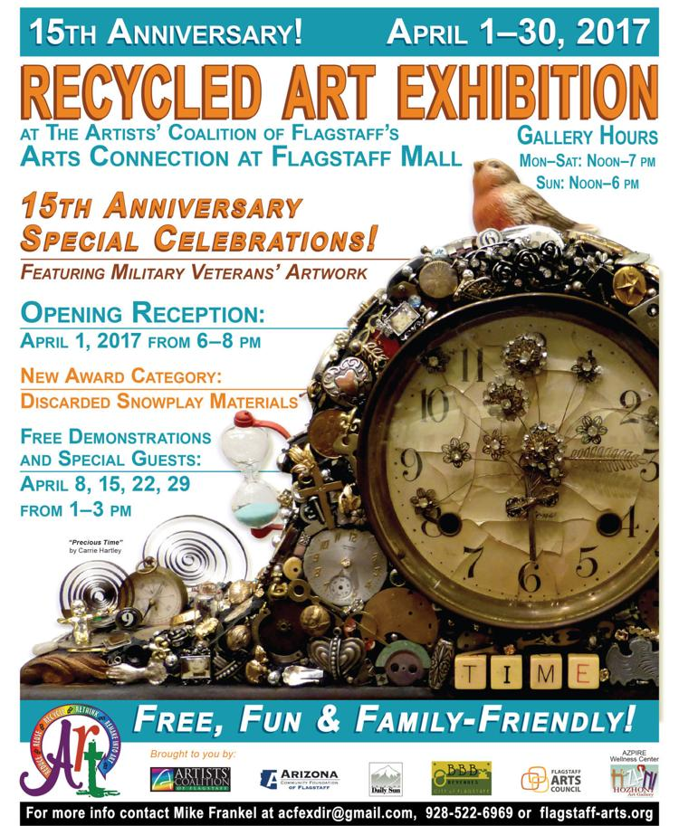 15th Annual City of Flagstaff Recycled Art Exhibition
