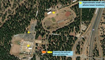 Fort Tuthill to add cell towers, city well next year | Local ... on cell phone map, at&t microwave tower map, federal park map, radio tower map, fcc tower locator map, phone locator map, carbon tax map, desalination plant map, residential map, super center map, cell network map, cell service outage map, wifi map, cellular towers map, verizon tower map, shanghai tower map, water tower map, sprint tower map, microwave tower location map, at&t tower location map,