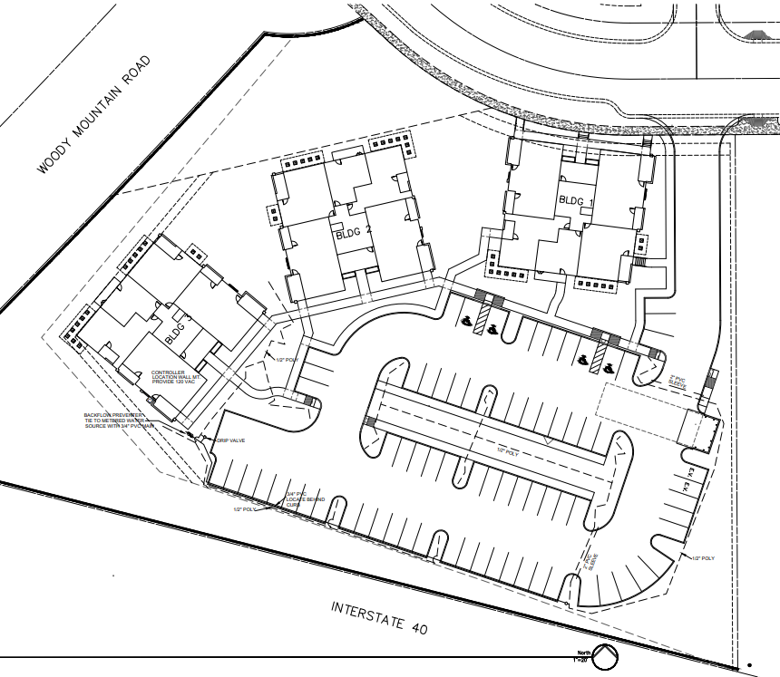 Overhead map for final Presidio in the Pines tract proposal