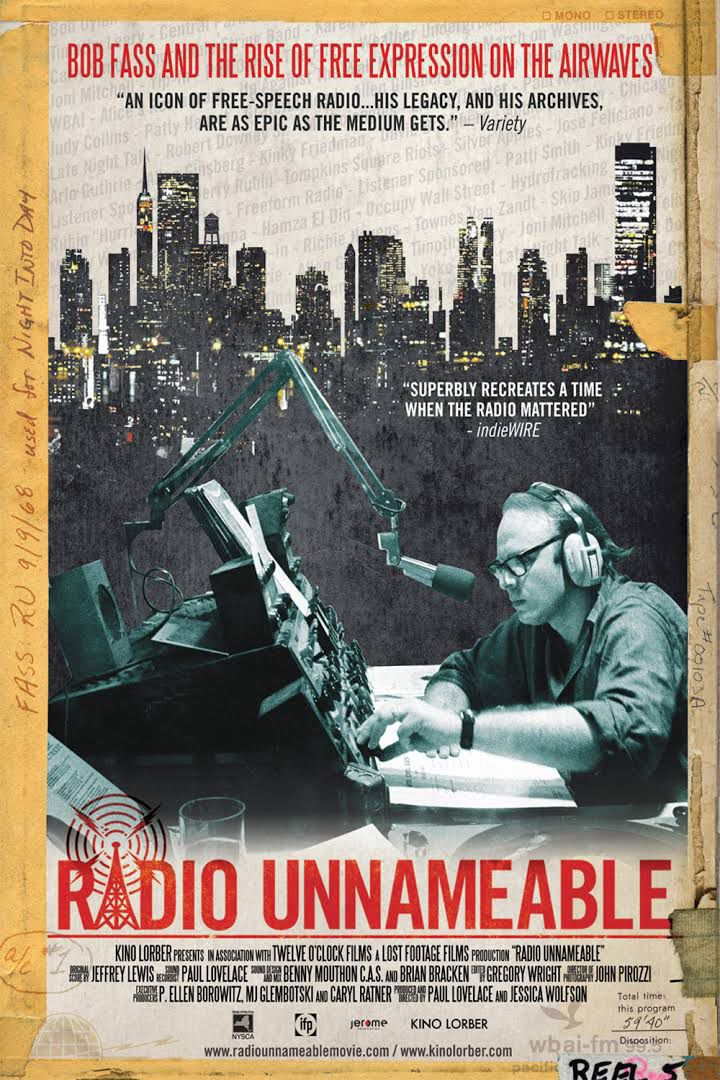 Radio Unnameable movie poster