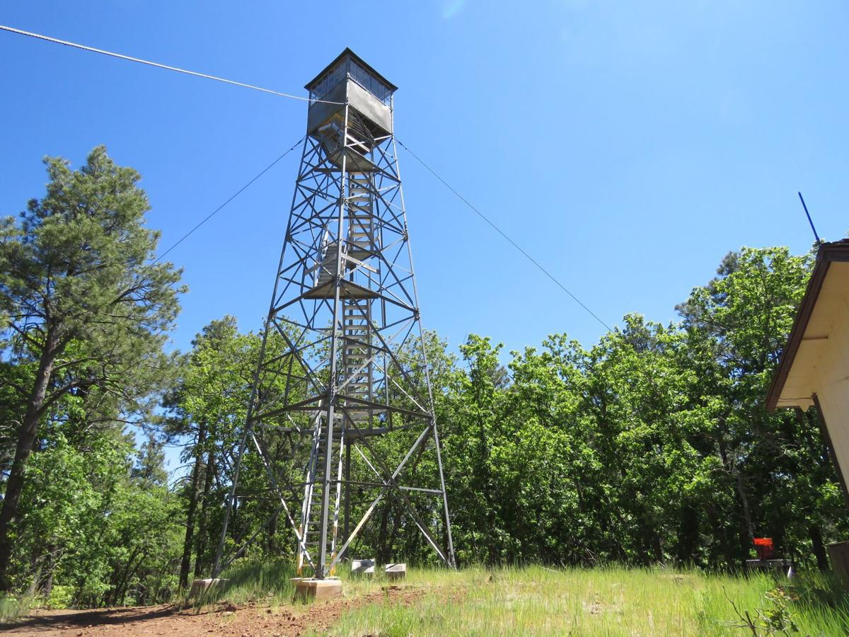 Woody Mountain fire tower