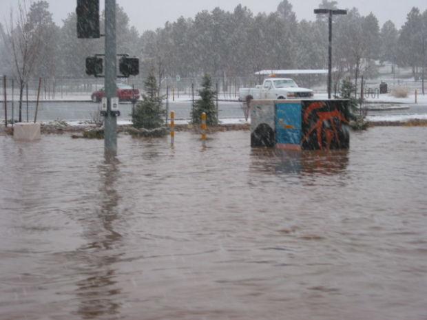 Rio de Flag flooding