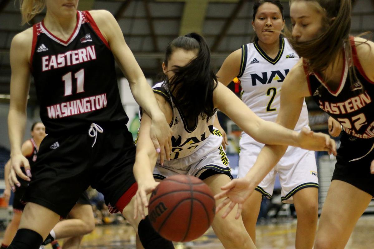 NAU Women Eastern Washington