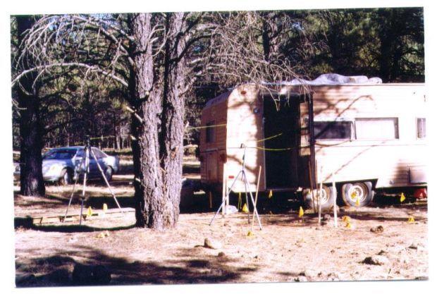 Bellemont homicide scene - 1999