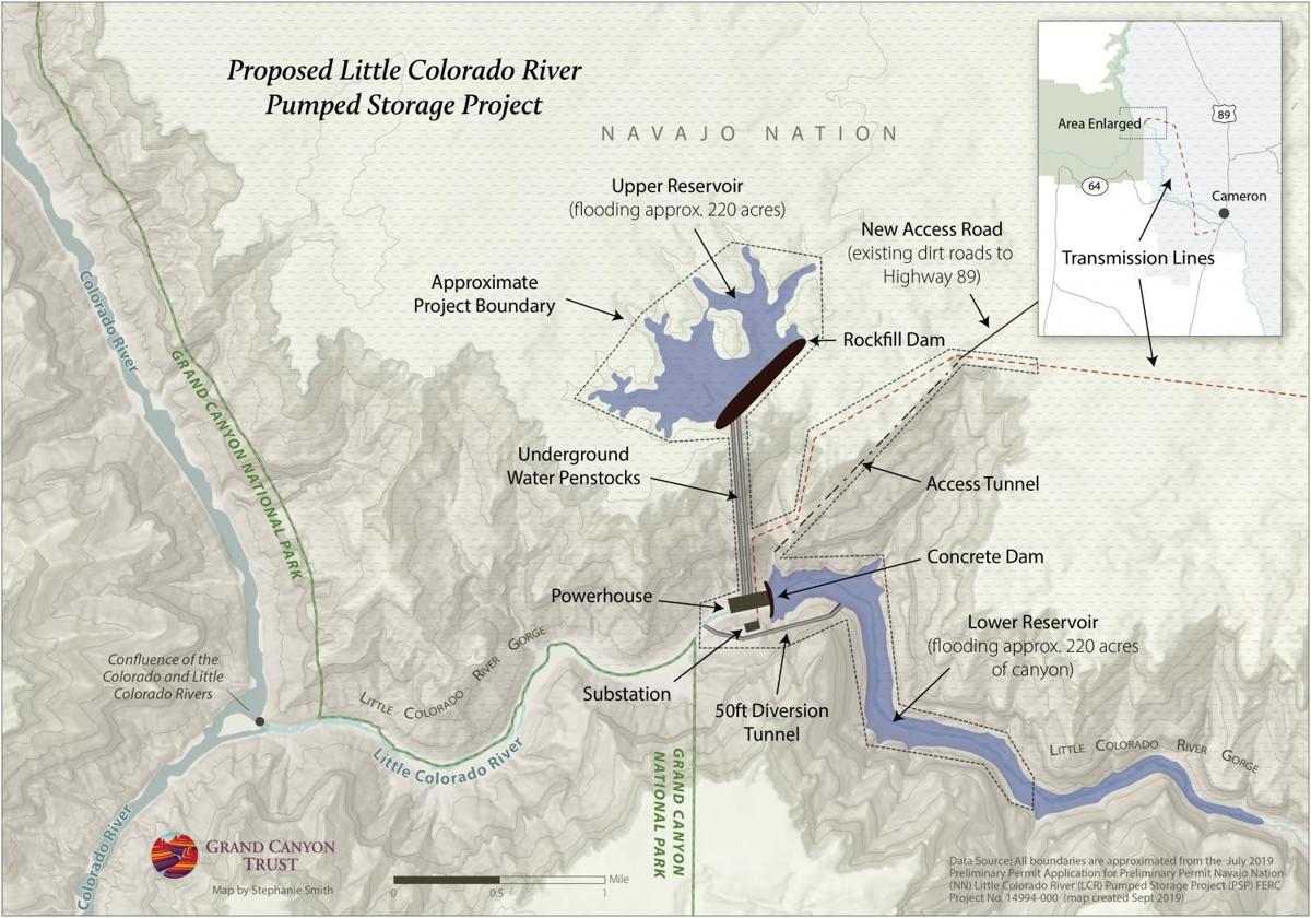 Little Colorado River dam proposal