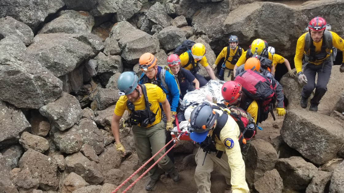 Phoenix woman rescued from Lava Caves