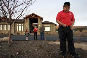 Remote controlled by levi long: arizona navajo family gets new.
