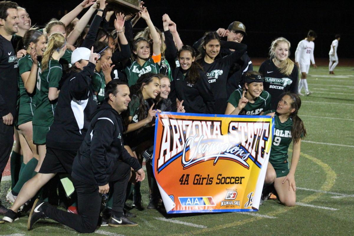 Flagstaff girls soccer wins 4A title