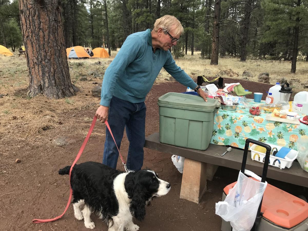 Campers at Canyon Vista