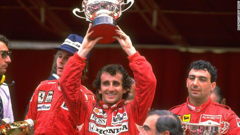 'It was perfect' -- Formula One great Alain Prost remembers his first car