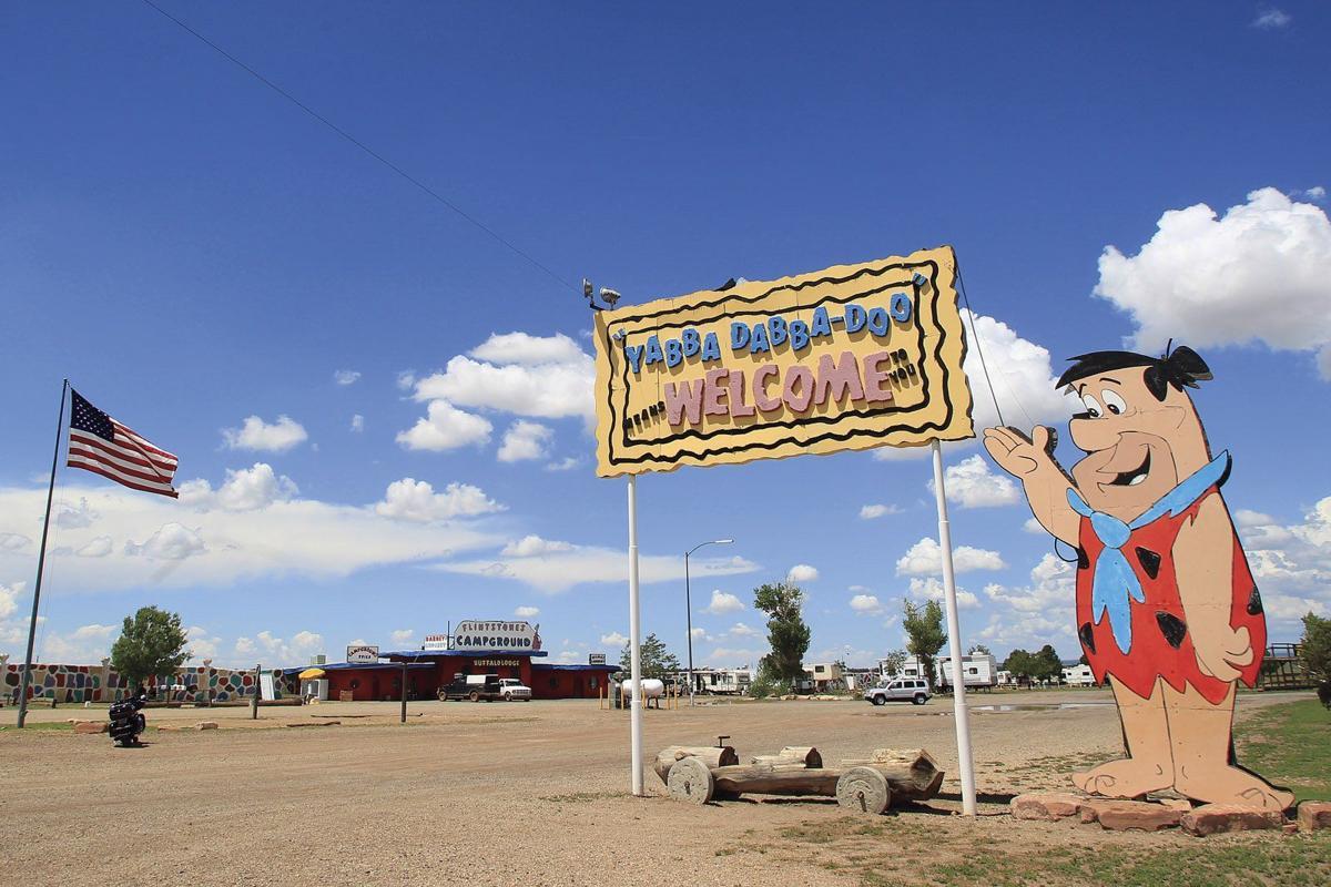 Bedrock City entrance
