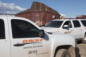 BNSF workers hope to re-open lines by Tuesday night