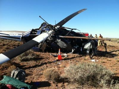 Helicopter crash