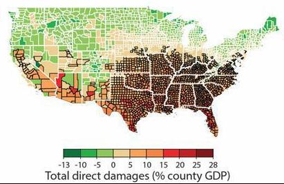 Climate change and counties