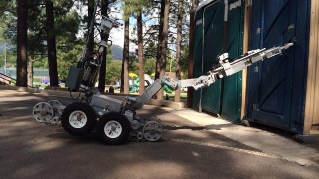 Flagstaff Police robot proves worth in Tuba City standoff