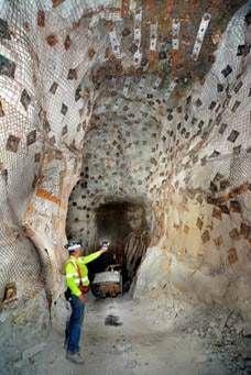 Pinenut Mine underground
