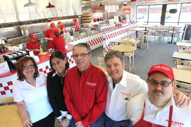 Five Guys Open