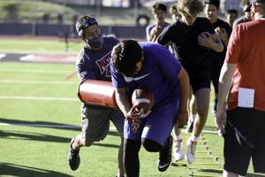 Spring football for Flagstaff Eagles, Coconino Panthers