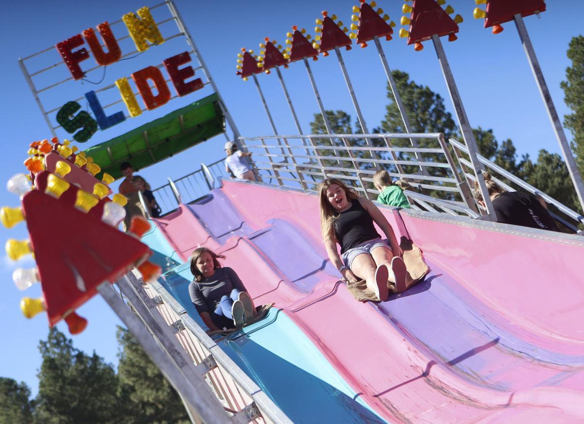 Flying Down The Fun Slide. (copy)