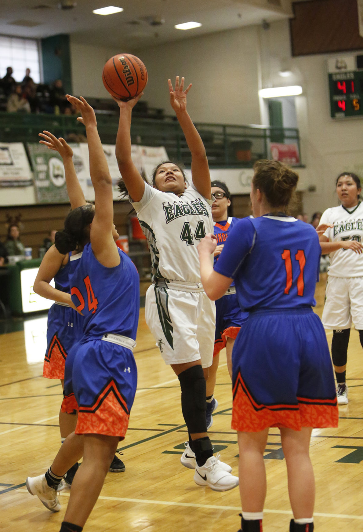 Flagstaff High Thunderbird High Basketball