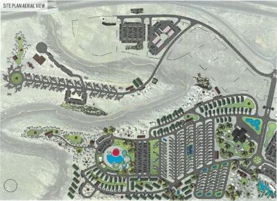 Two Guns Site Plan