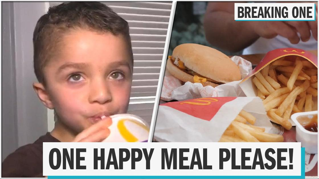 5-year-old calls 911 to ask for McDonald's