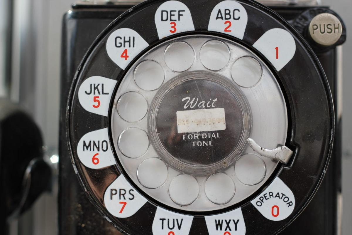 Wait for the dial tone