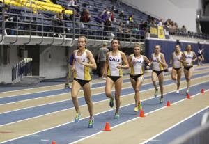 School record falls as NAU begins its indoor track season