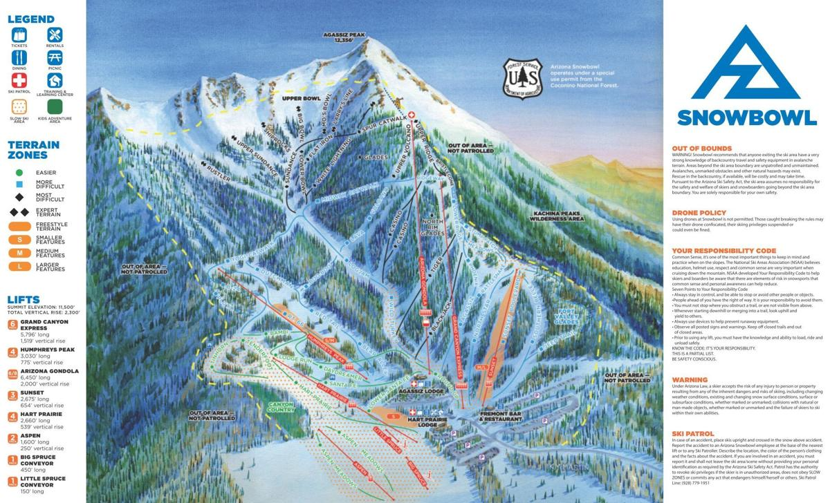 Snowbowl map