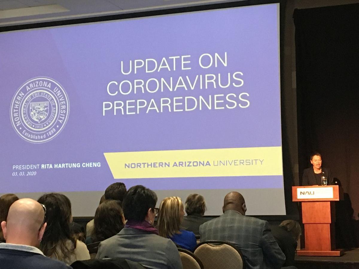 NAU update on coronavirus