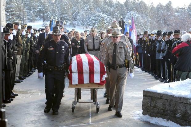 Officer Tyler Stewart Funeral