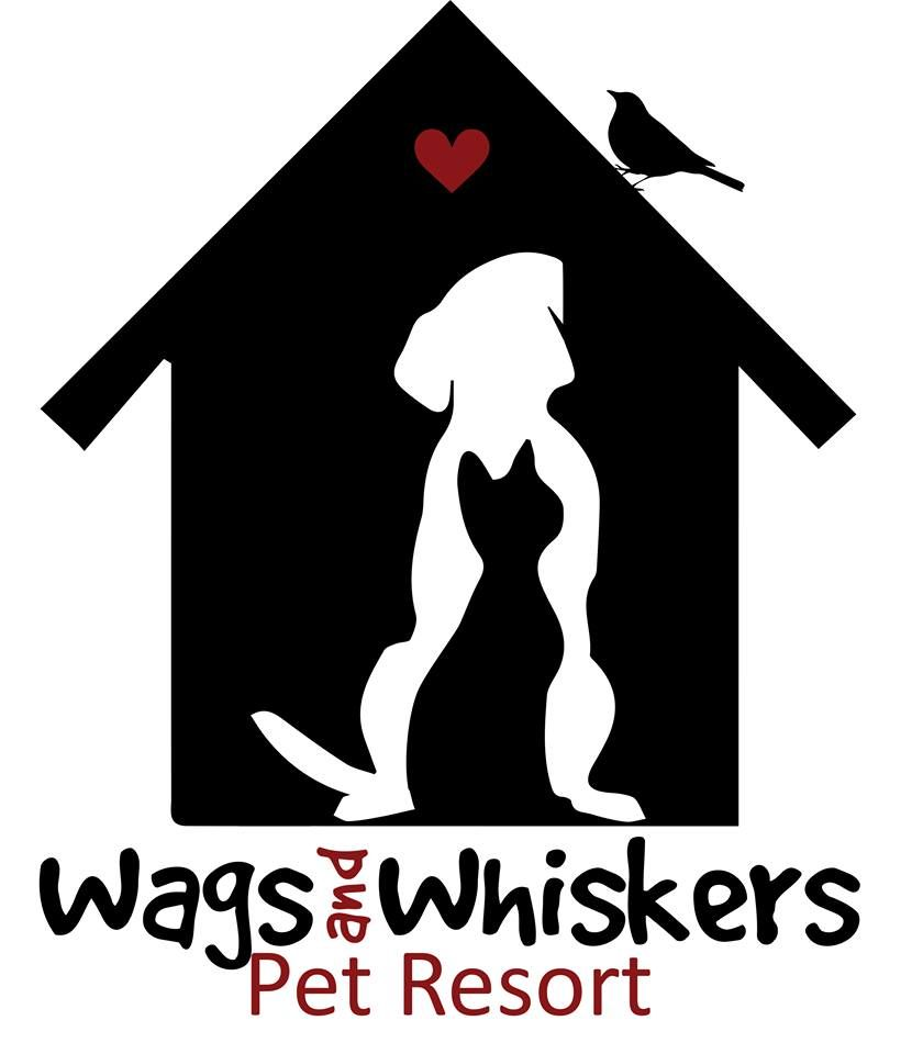 Wags And Whiskers Pet Resort Logo