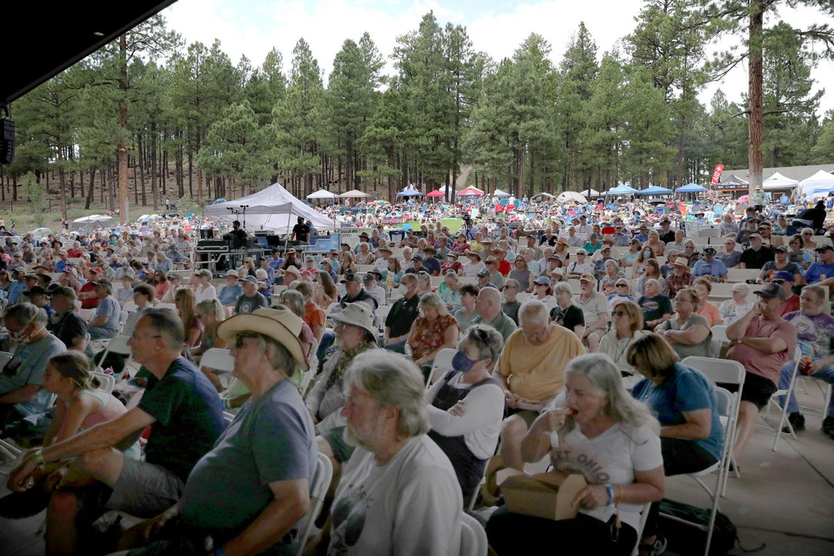 Crowds Come Out For Pickin in Pines