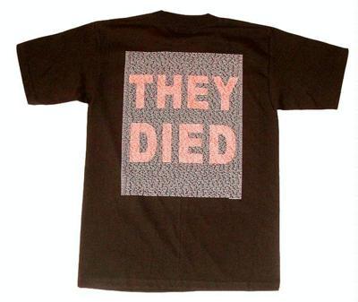 Antiwar T-shirts win protection