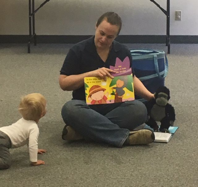 Join us for baby storytime.