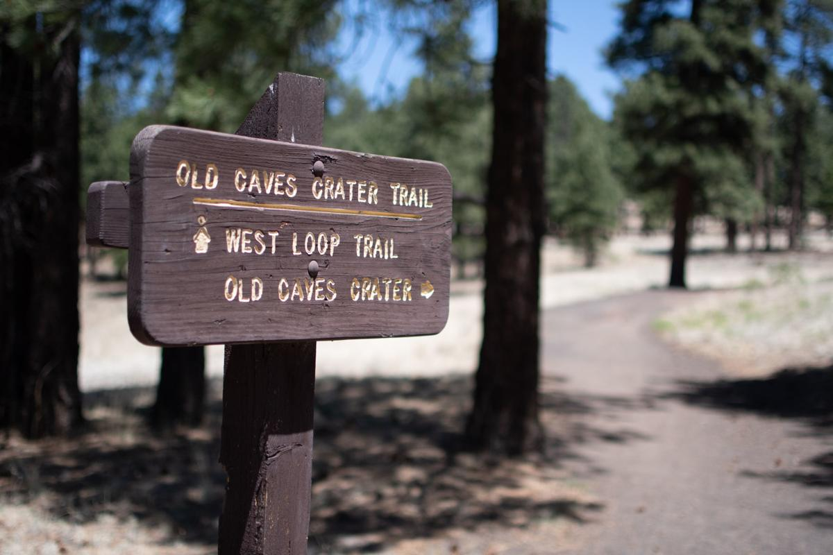 High country running trail sign