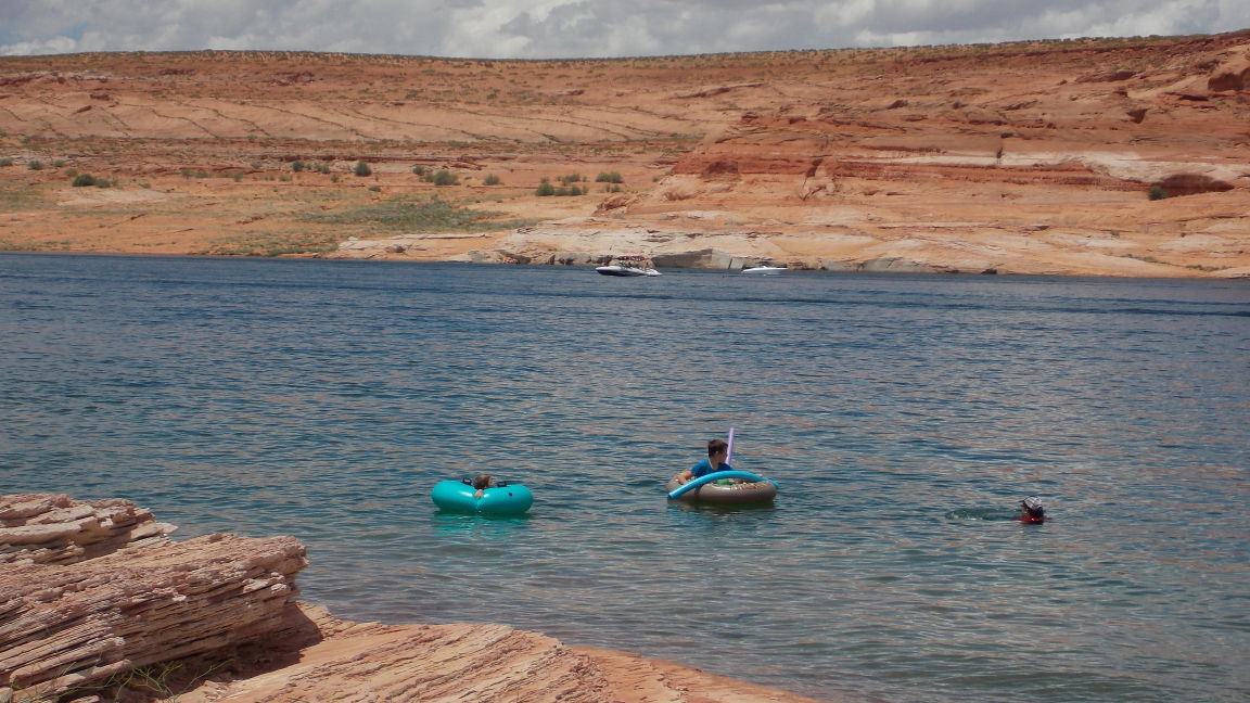 Spots To Swim At Lake Powell