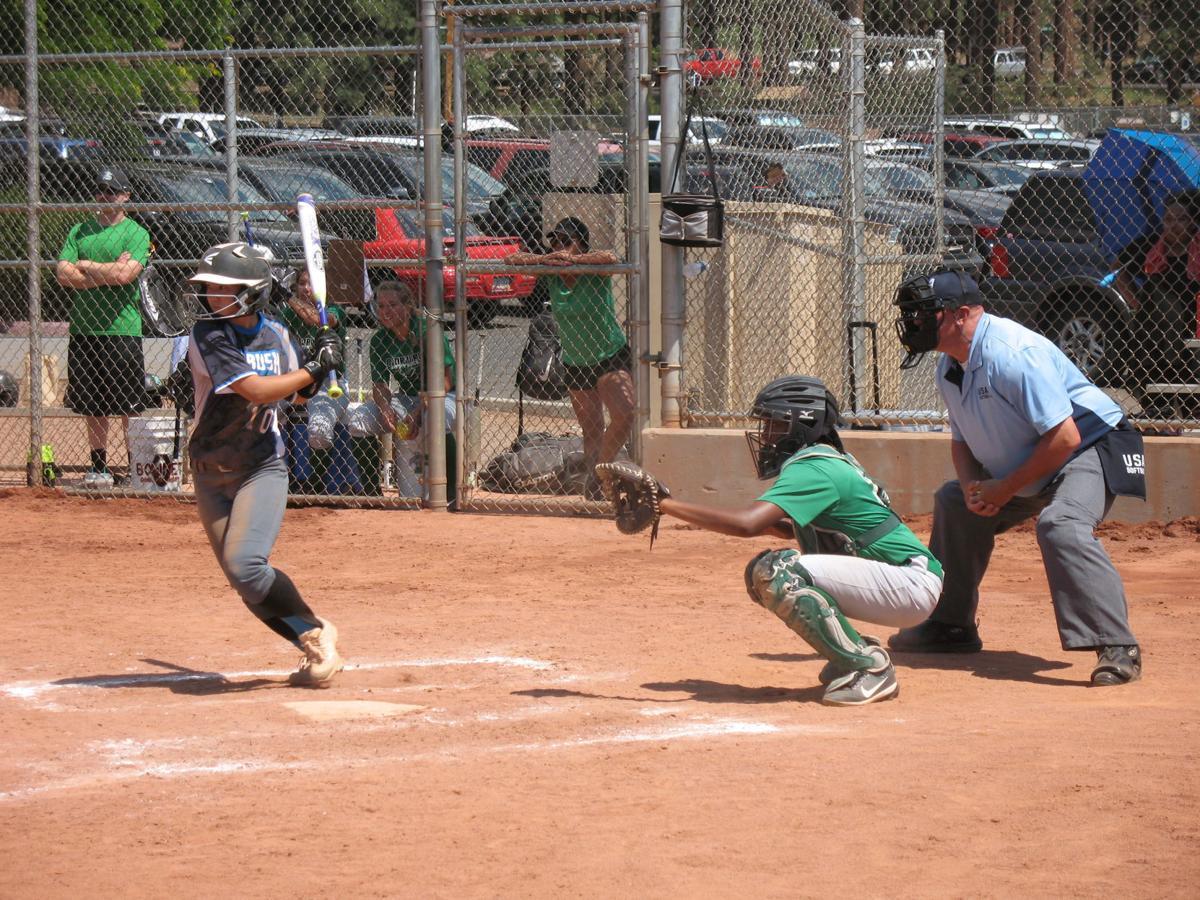 Ambush softball Wong